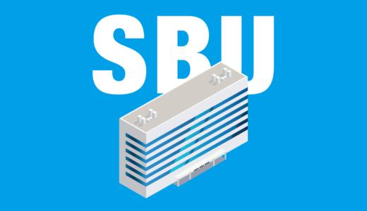SBU(ストラテジック・ビジネス・ユニット)とは?戦略的事業単位