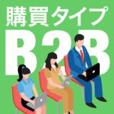B2B市場の購買タイプ
