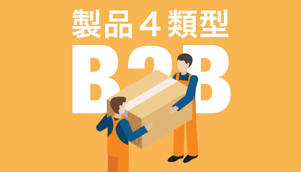 企業購買の製品4類型